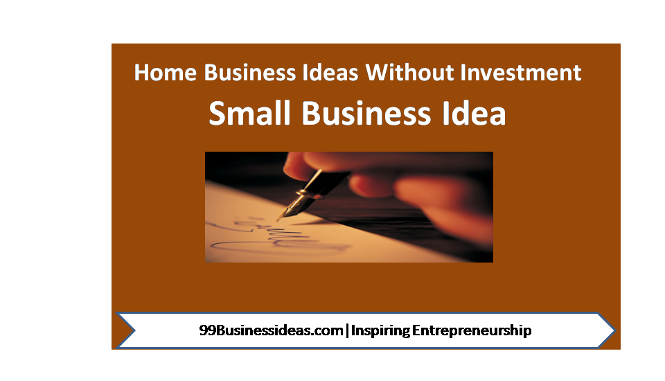 Most Profitable Business Ideas Without Investment