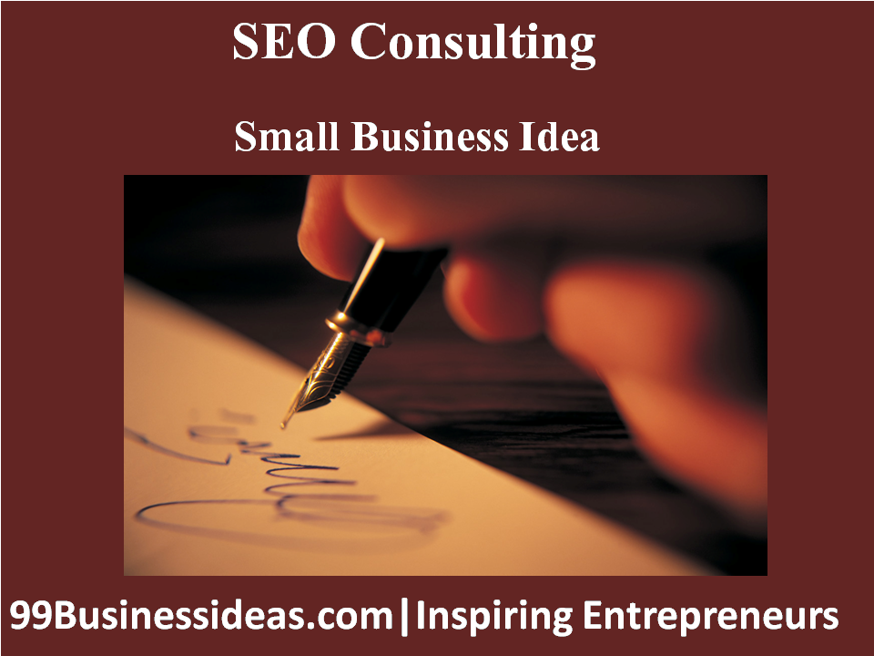 seo consulting business idea