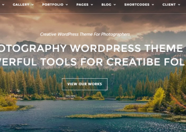 Top 5 Photography WordPress Themes for Photographers