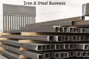 iron & steel business ideas