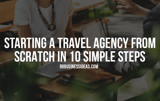 start a travel agency business