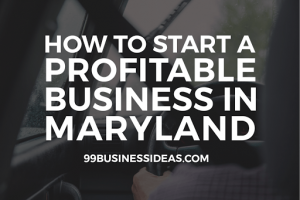business ideas in maryland