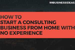 consulting business from home